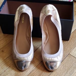 Coach ballerina flats